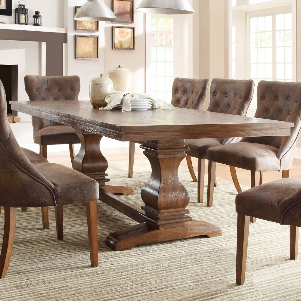 Large Rustic Look Dining Tables Within Best And Newest Rustic Chairs For Dining Room – Kallekoponen (View 8 of 30)