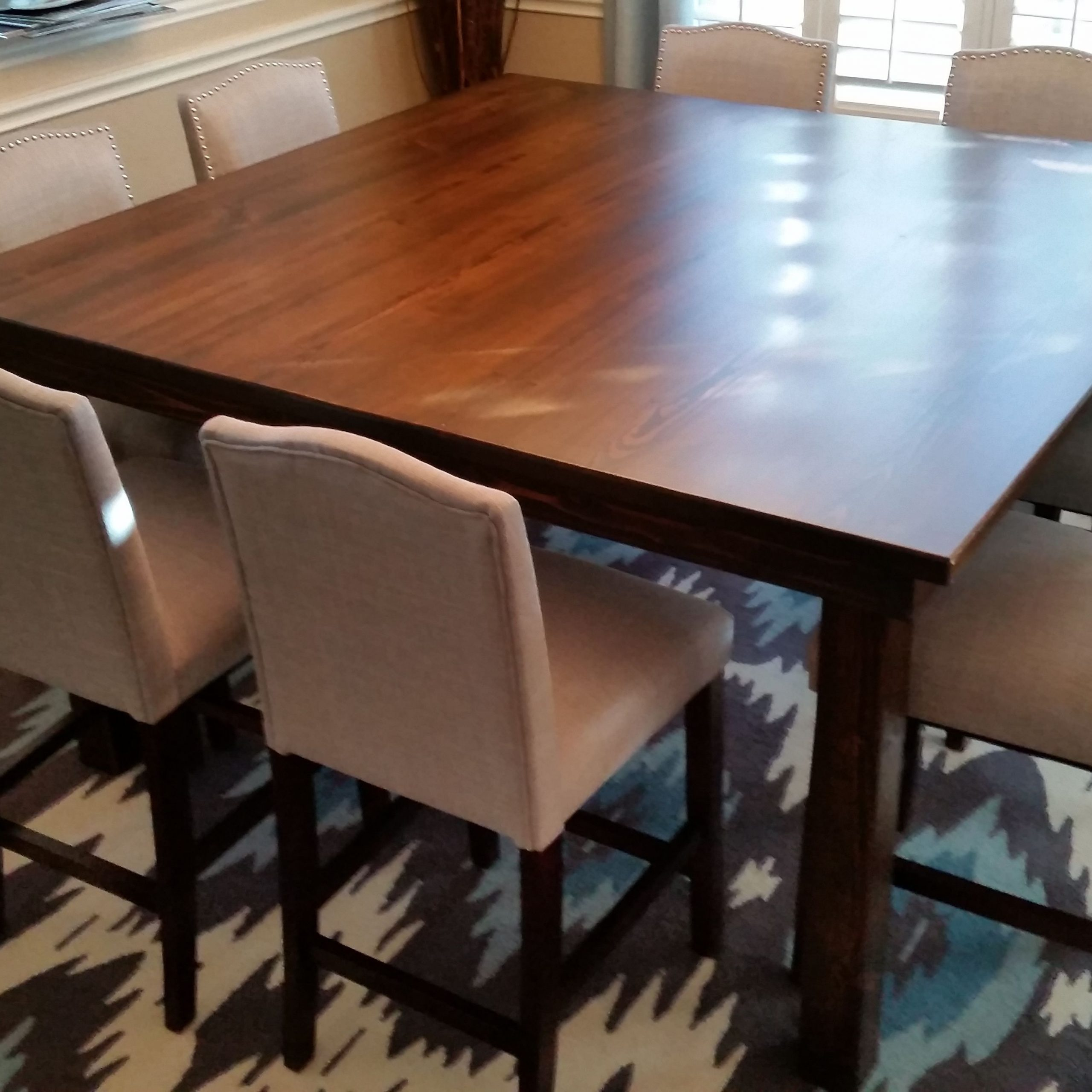 Large Square Dining Table (View 21 of 30)