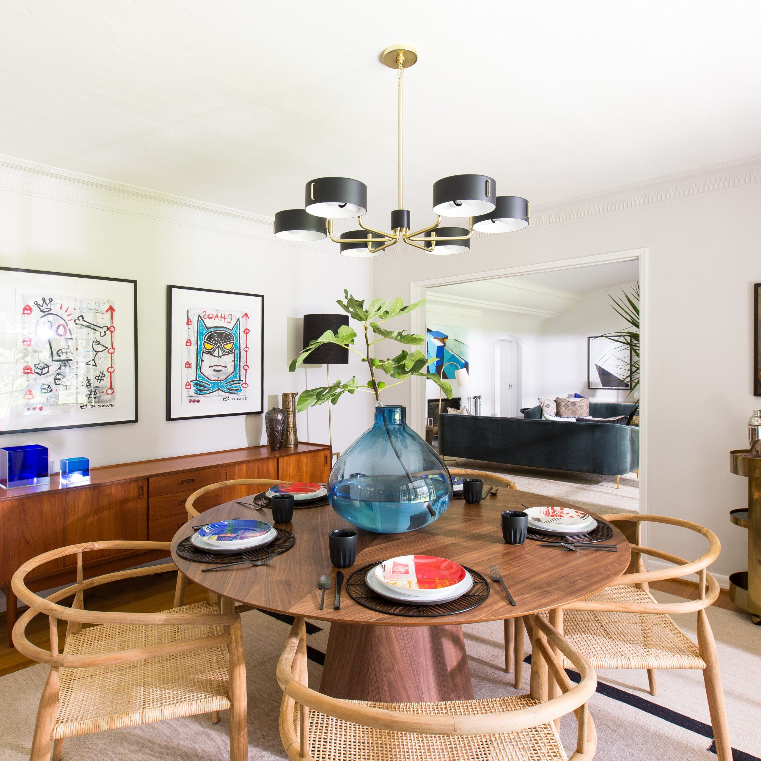 Latest 8 Midcentury Modern Decor & Style Ideas: Tips For Interior With Transitional Antique Walnut Square Casual Dining Tables (View 25 of 30)