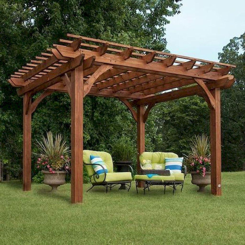 Featured Photo of A4 Ft Cedar Pergola Swings