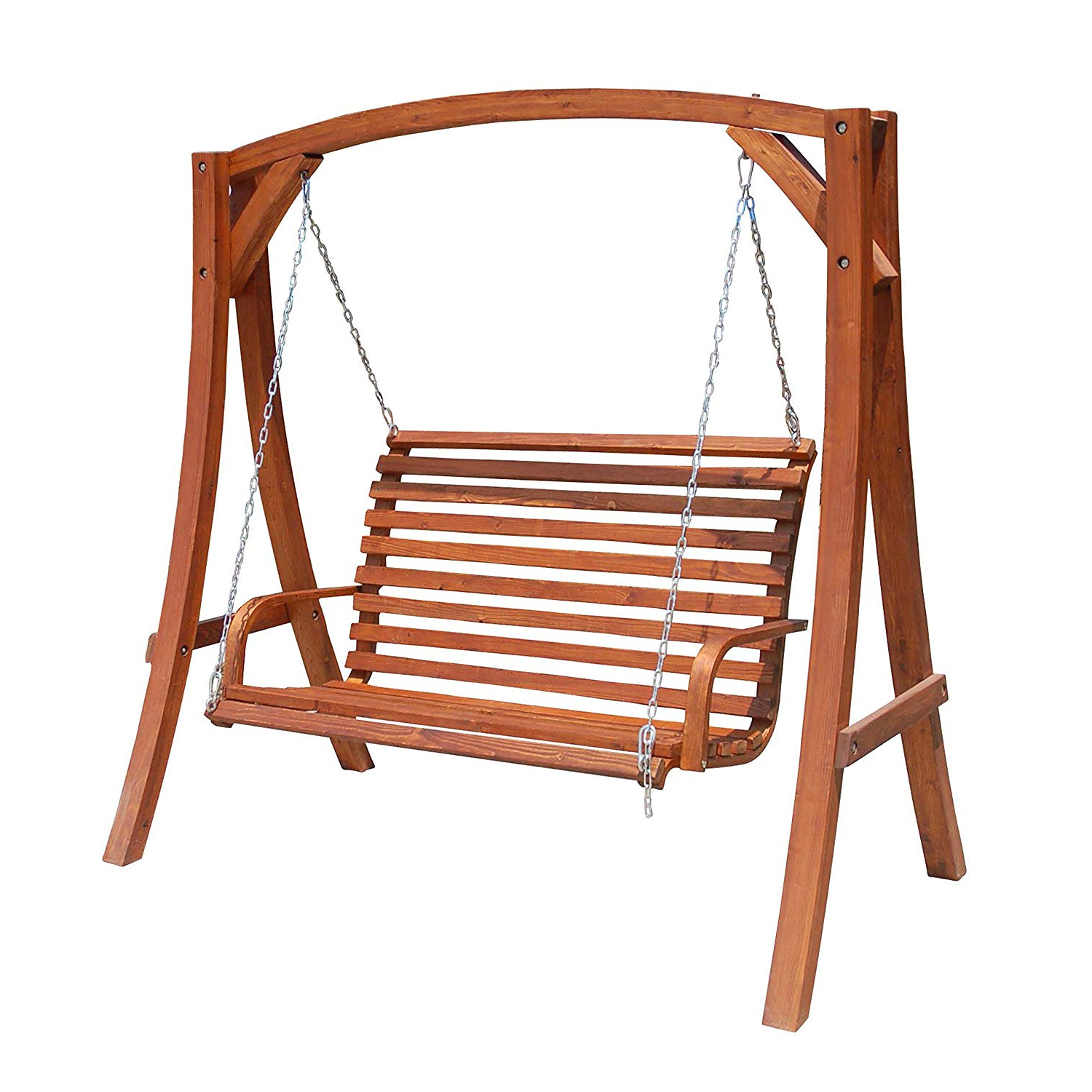 Latest Amazon : Porthos Home Antique Revival Annika Yard Swing Intended For Rosean Porch Swings (View 12 of 30)