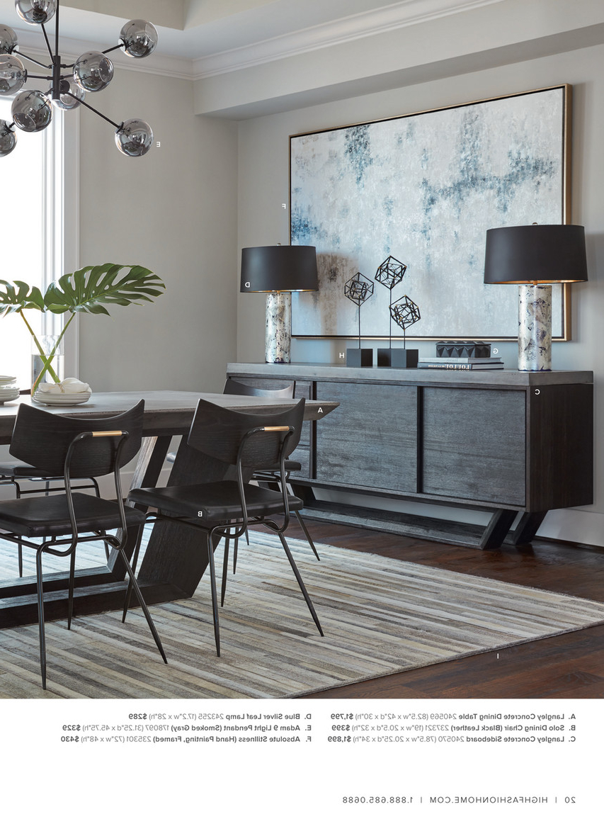 Latest Dining Tables In Smoked Seared Oak With Regard To High Fashion Home – Catalog Spring 2016 – Milan Dining Table (View 13 of 30)