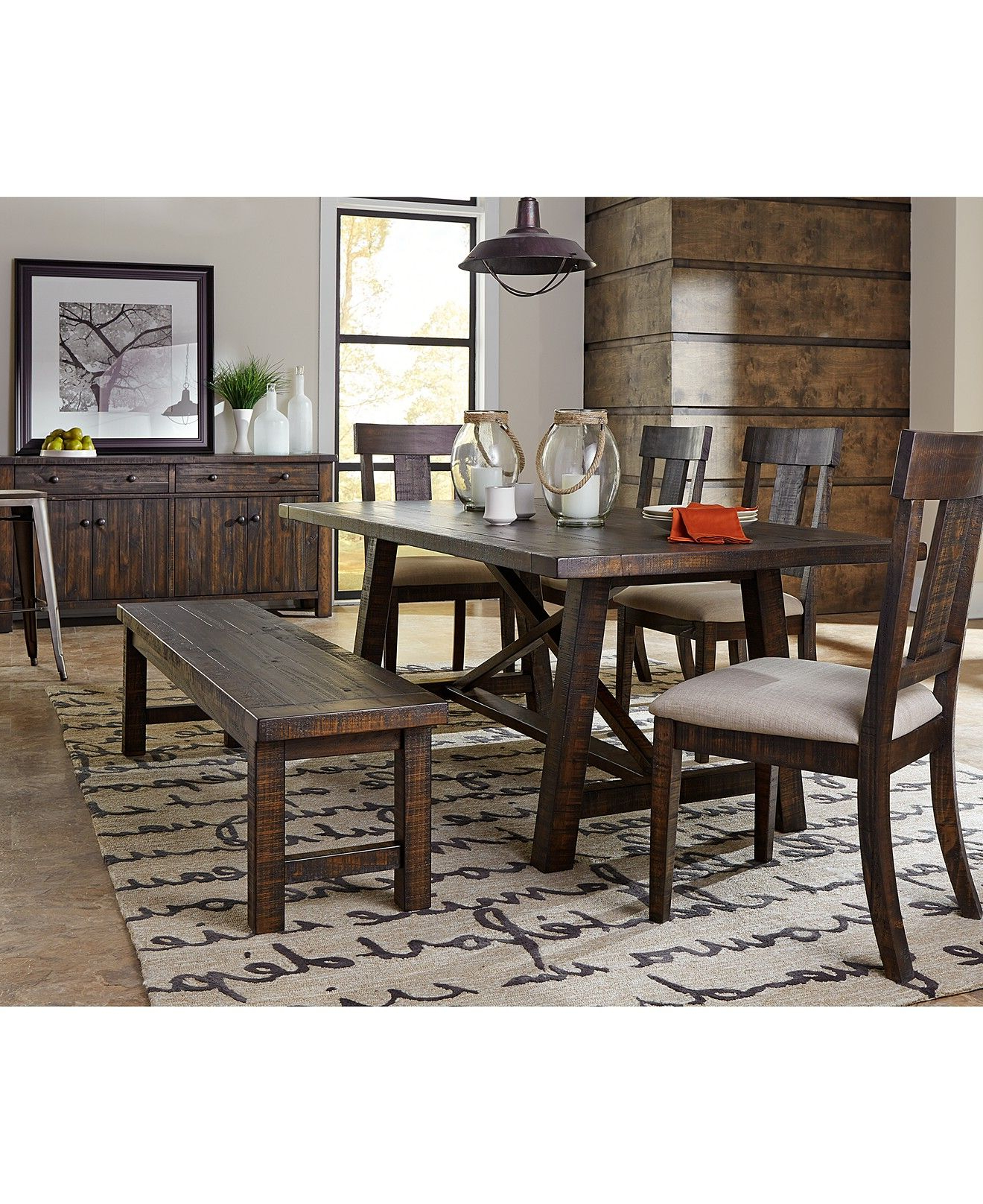 Latest Ember Dining Room Furniture Collection – Dining Room In Acacia Dining Tables With Black Rocket Legs (View 16 of 30)
