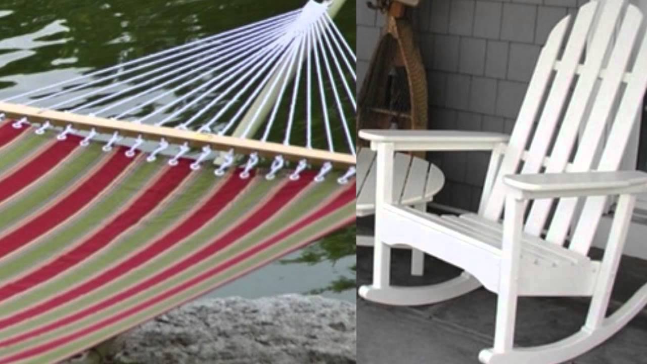 Latest Outdoor Rocking Chairs, Gliders, Porch Swings, Hammocks & More With Comfort Rocking (View 28 of 30)
