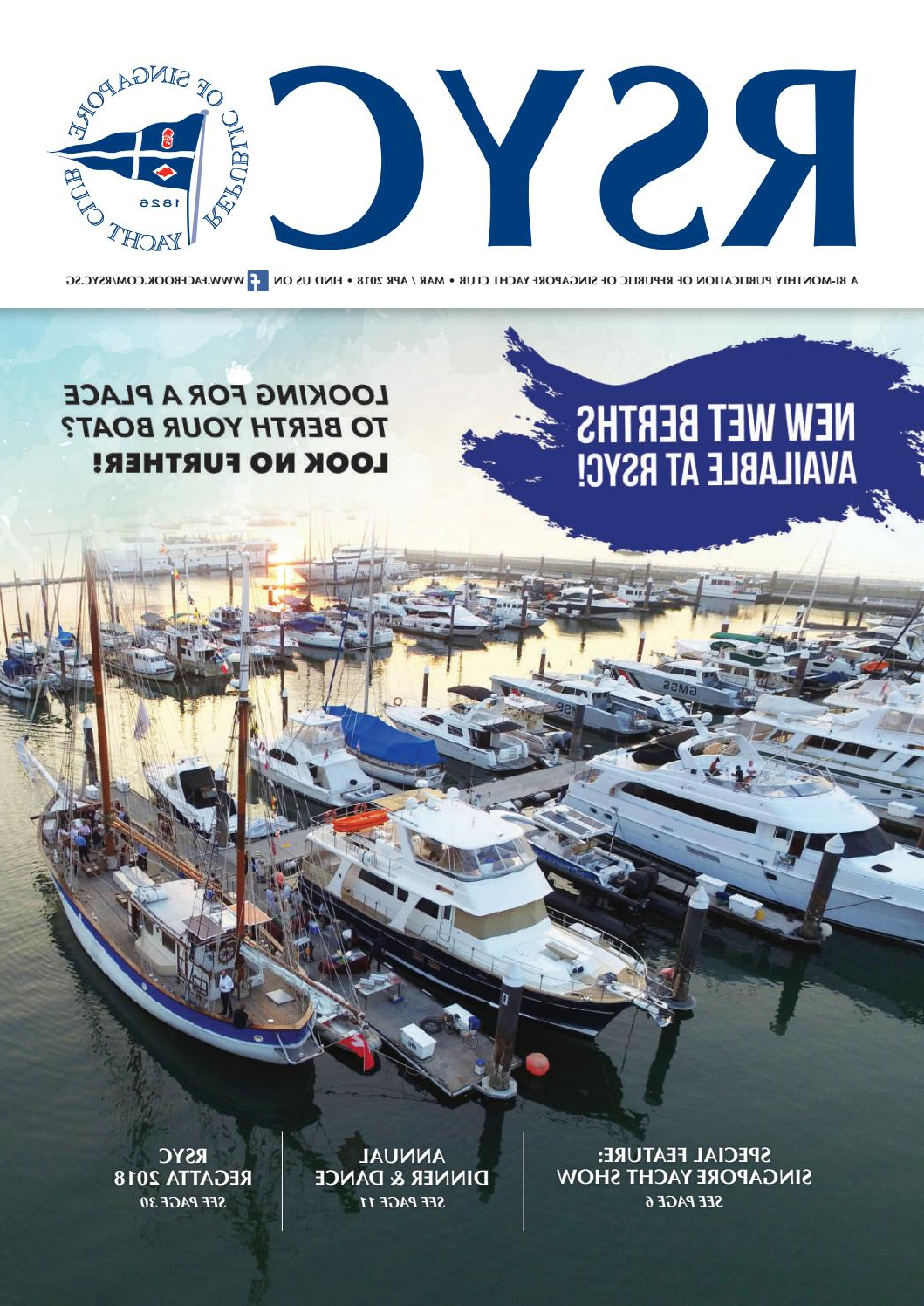 Latest Rsyc Magazine March/april 2018republic Of Singapore Inside Outdoor Furniture yacht Club 2 Person Recycled Plastic Outdoor Swings (View 28 of 30)