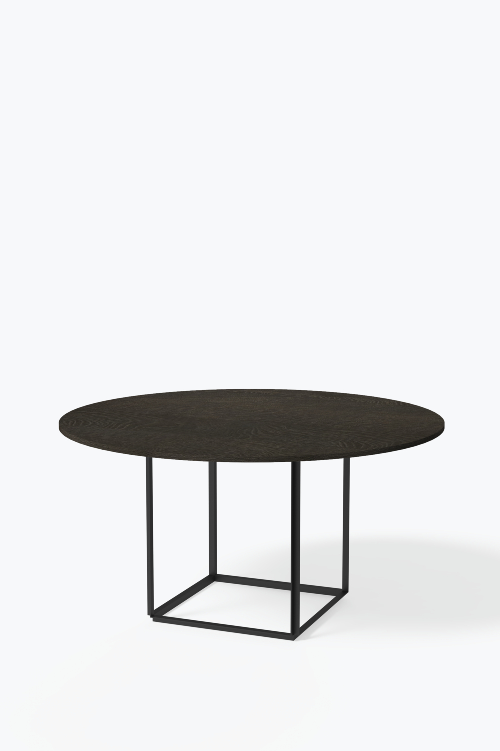 Latest Smoked Oval Glasstop Dining Tables For Florence Dining Table – Ø 145 Cm W (View 4 of 30)