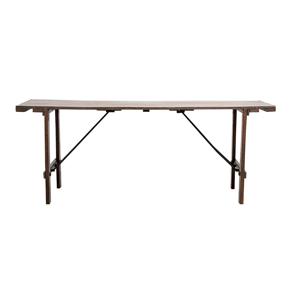 Lene Bjerre Emiko Dining Table 76cm Mango Wood Within Most Recently Released Iron Dining Tables With Mango Wood (View 23 of 30)