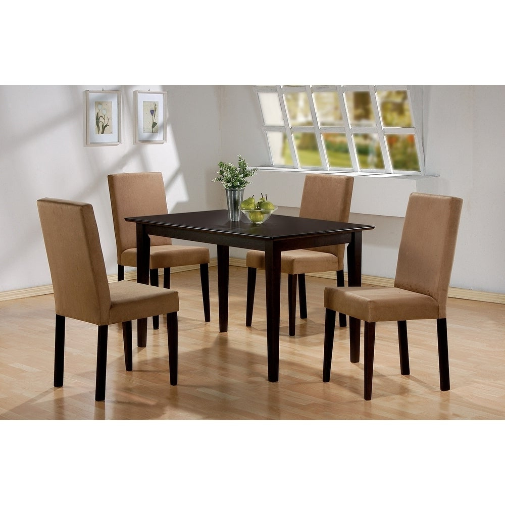 Lorain Transitional Rectangular Dining Table – Cappuccino With Regard To Popular Transitional Rectangular Dining Tables (View 10 of 30)