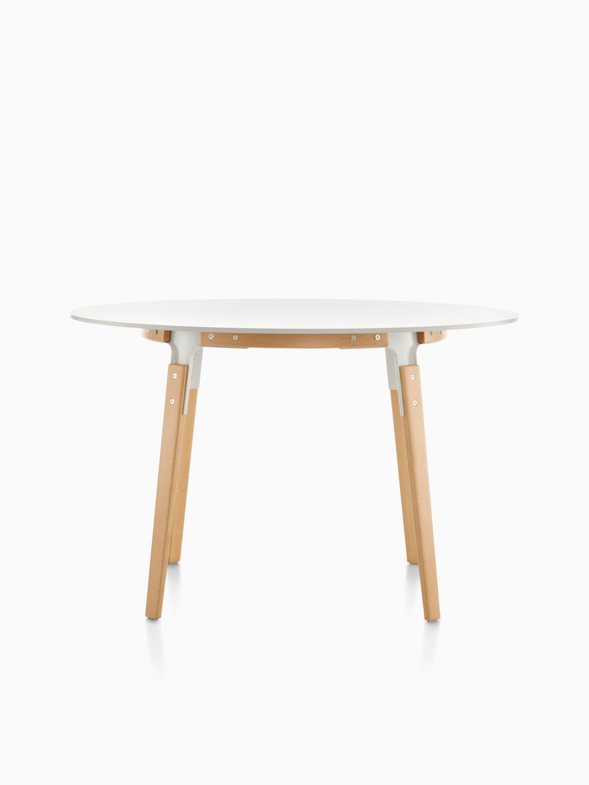 Magis Steelwood – Dining Table – Herman Miller With Most Recently Released Dom Square Dining Tables (View 8 of 30)