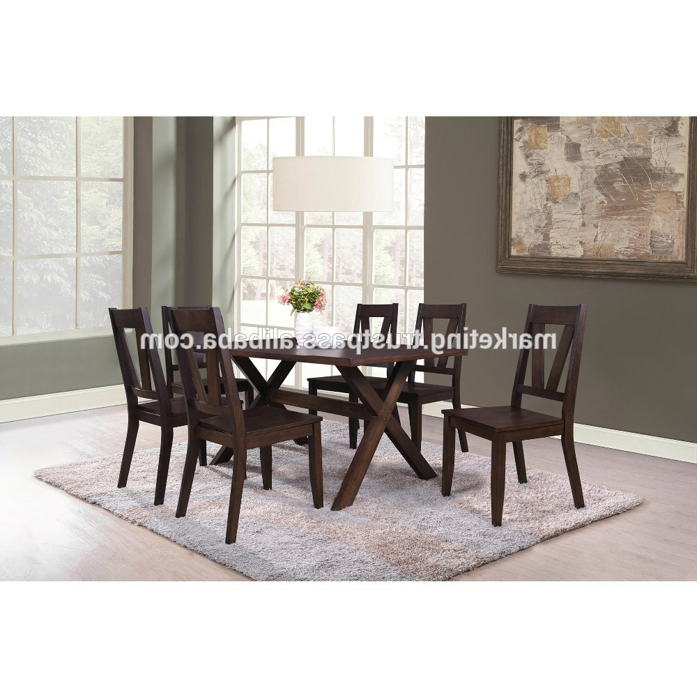 Malaysia Wooden Dining Room Furniture Set Or Modern Dining Table Set And Wooden Chair – Buy Wooden Furniture Dining Room Sets,dining Table Set With Regard To Most Current Modern Dining Tables (View 11 of 30)