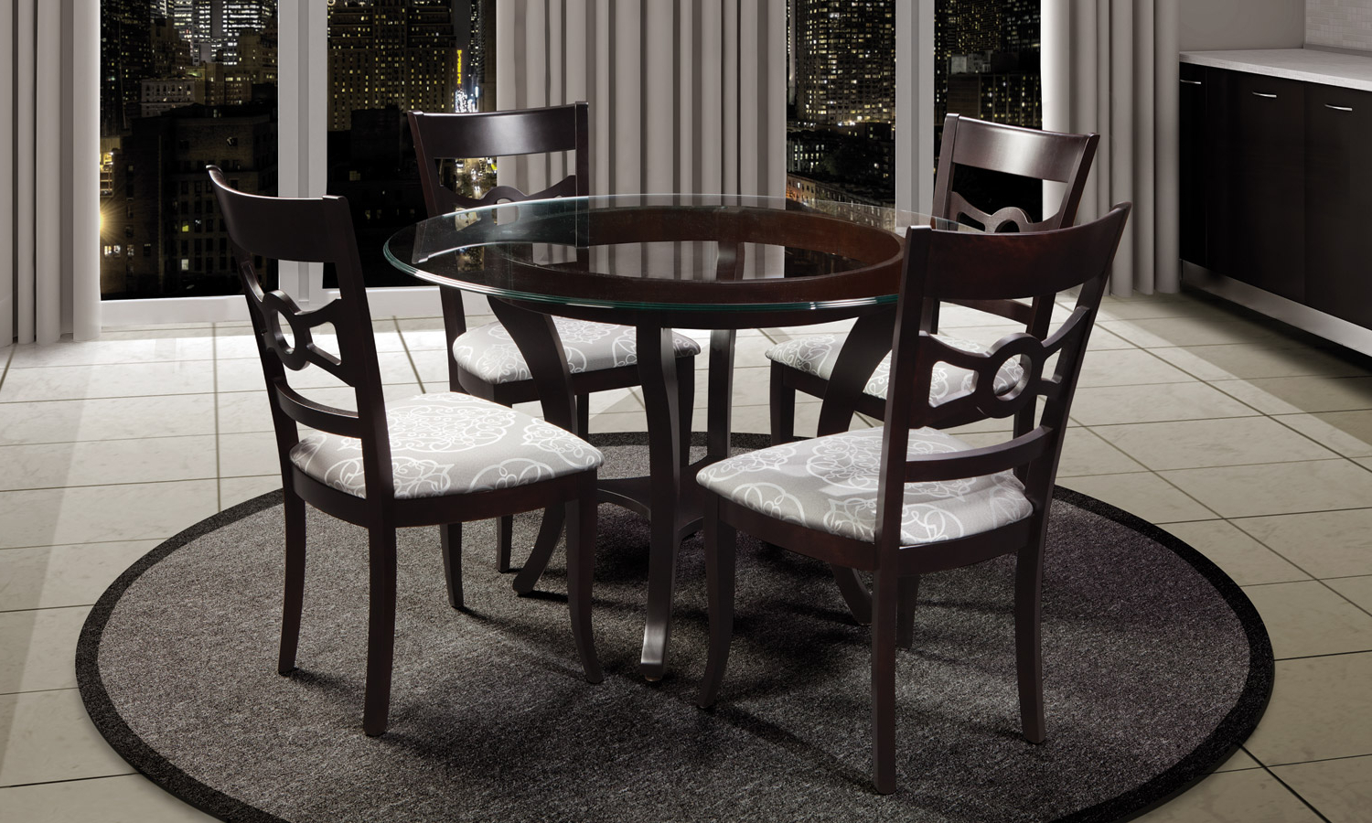 Mattress In Glass Top Condo Dining Tables (Gallery 3 of 30)