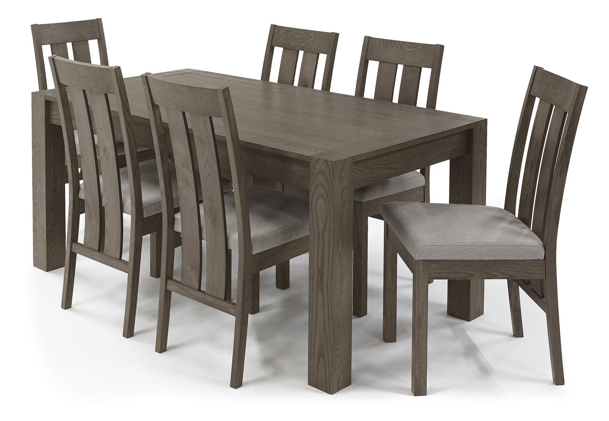 Medium Dining Tables For Favorite Turin Dark Oak Dining Table Medium 4 6 Seater End Extension Dining Table (View 13 of 30)