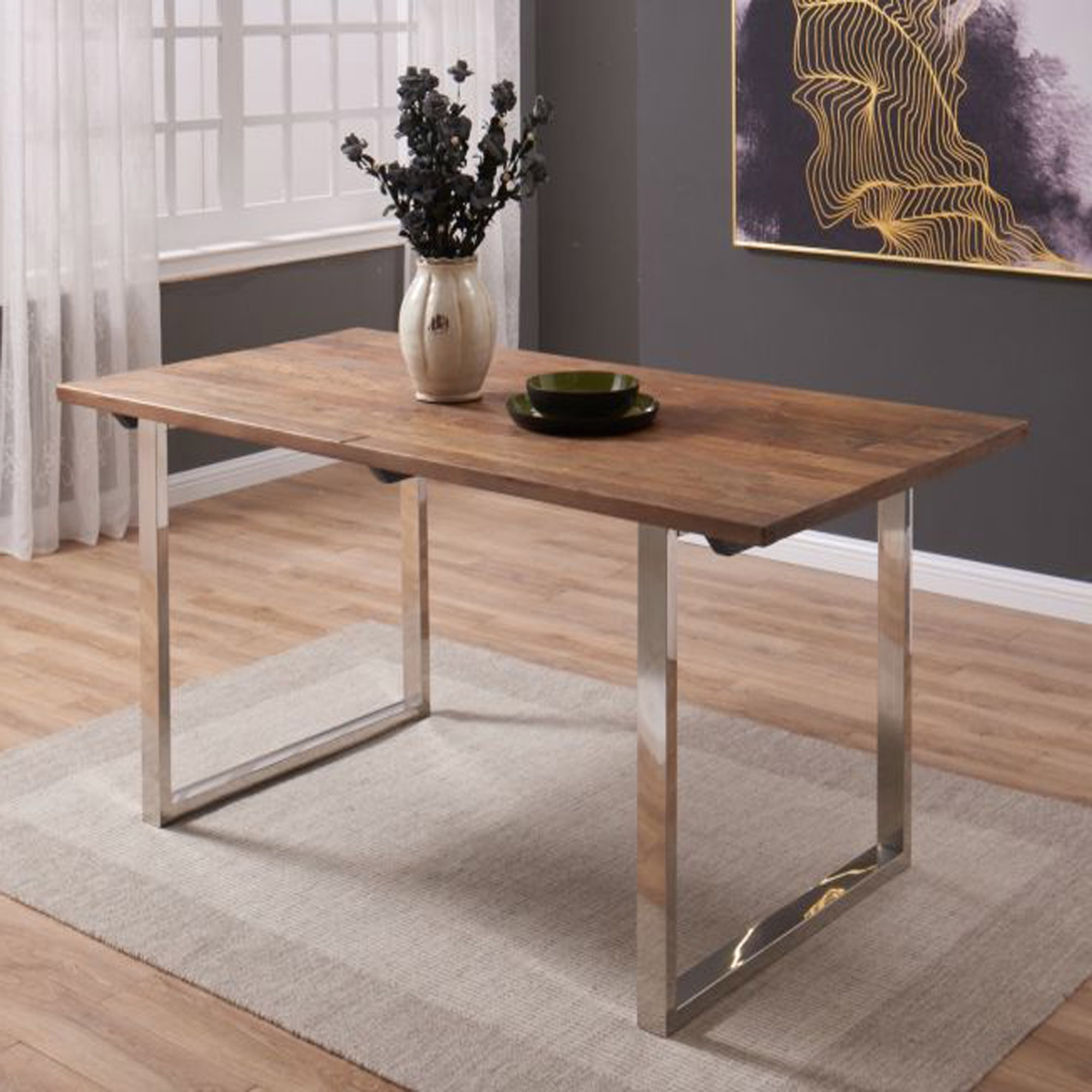 Modern Dining Tables With Trendy Malmo Dining Table (View 27 of 30)