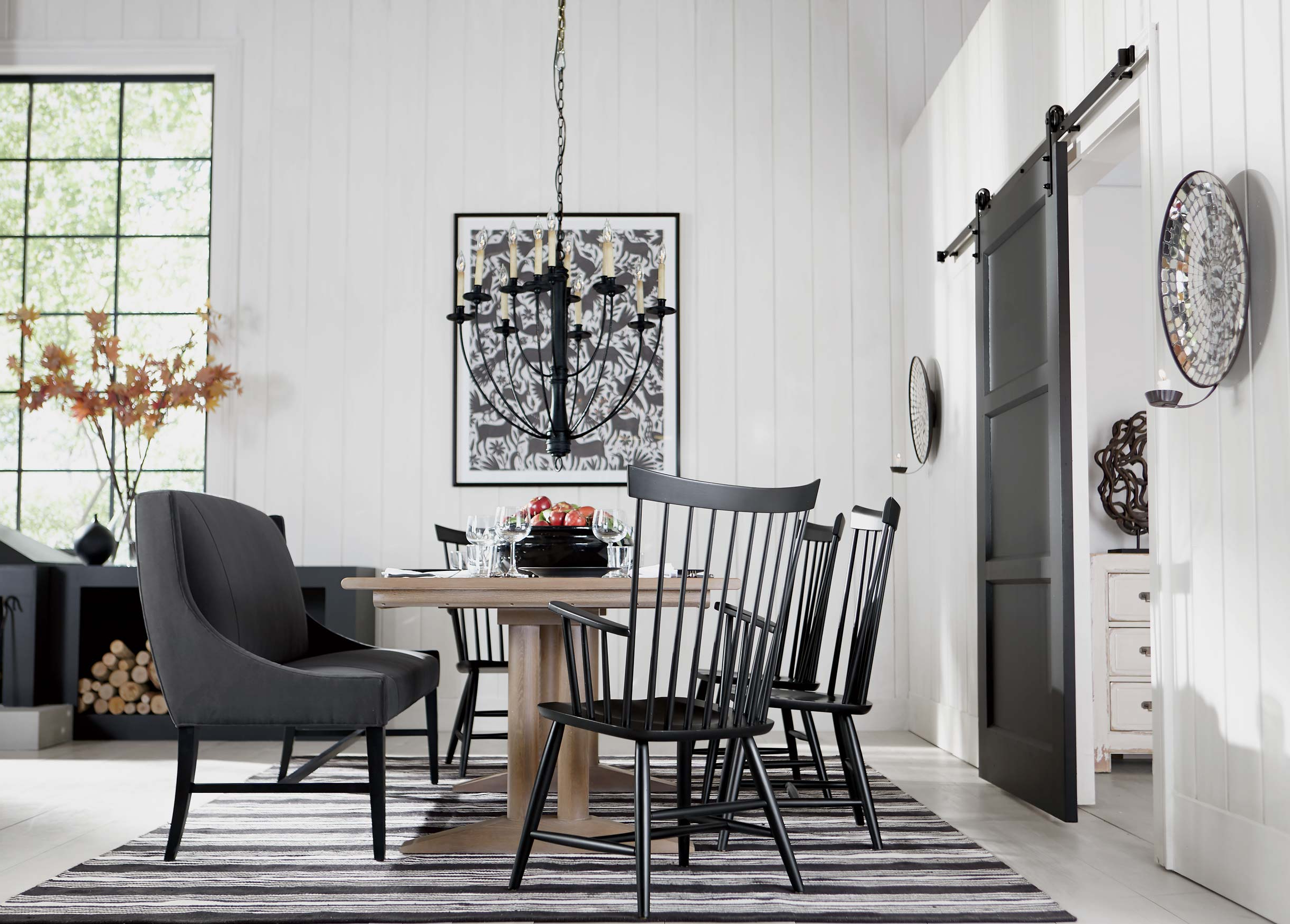 Modern Farmhouse Dining Room Inspiration (View 28 of 30)