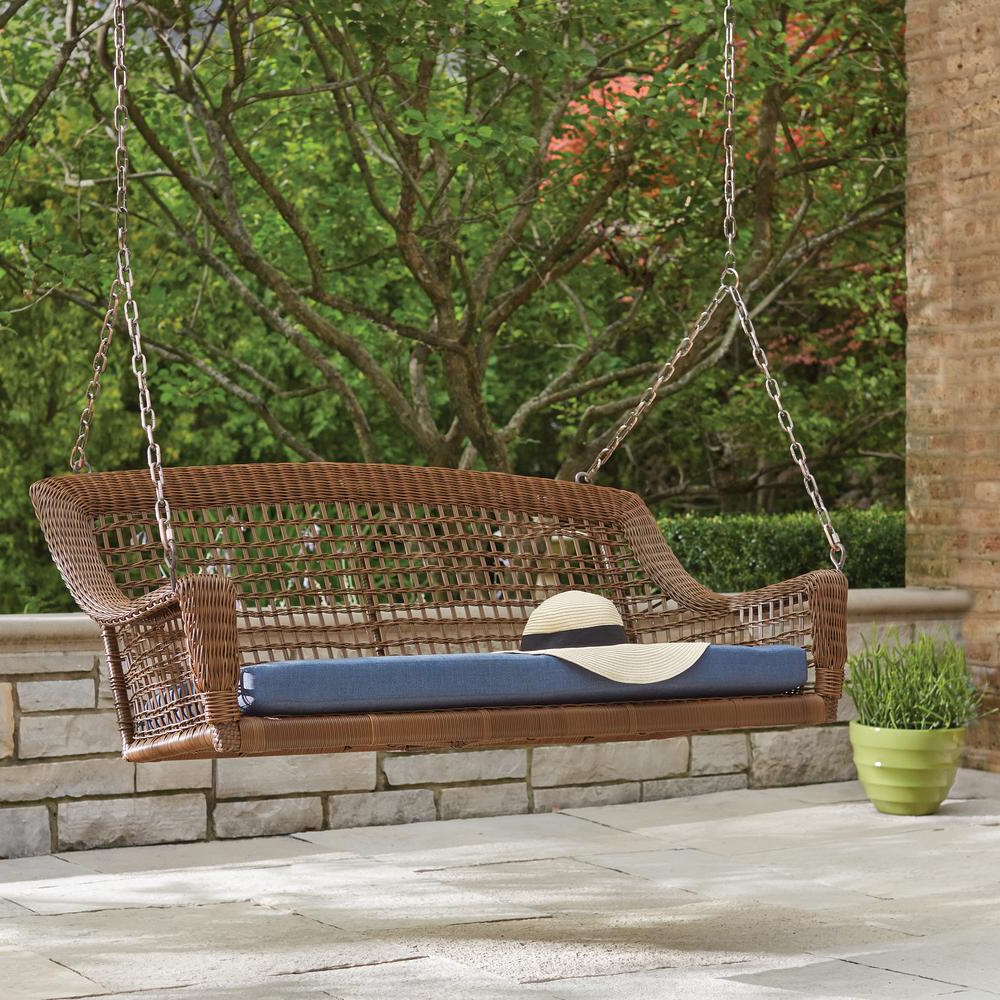 Modern Swing For Home Oonjal Wooden In South Indian In Newest 2 Person Black Steel Outdoor Swings (Gallery 21 of 30)