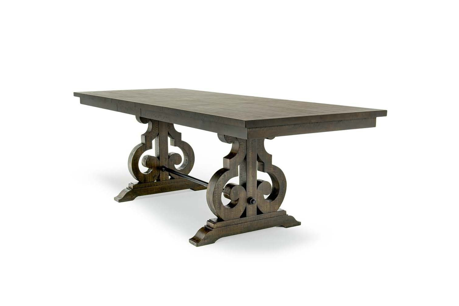 Mor Furniture Intended For Newest Charcoal Transitional 6 Seating Rectangular Dining Tables (View 15 of 30)