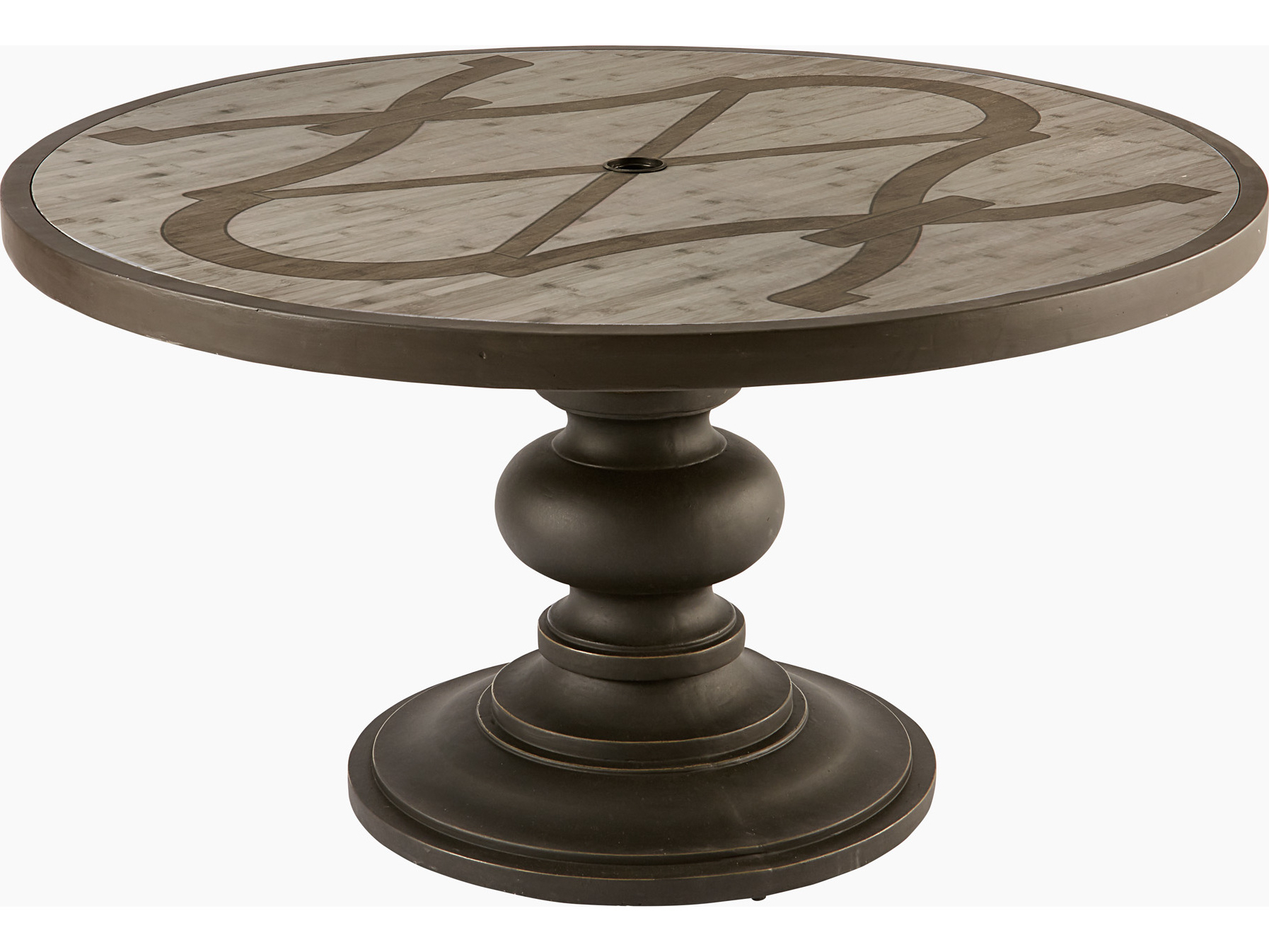 Most Current A.r.t. Furniture Morrissey Outdoor 54 Round Neo Round Dining Table With Neo Round Dining Tables (Gallery 5 of 30)