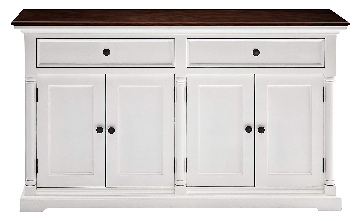 Most Current Amazon – Novasolo Provence Accent Buffet In Pure White For Provence Accent Dining Tables (View 19 of 30)