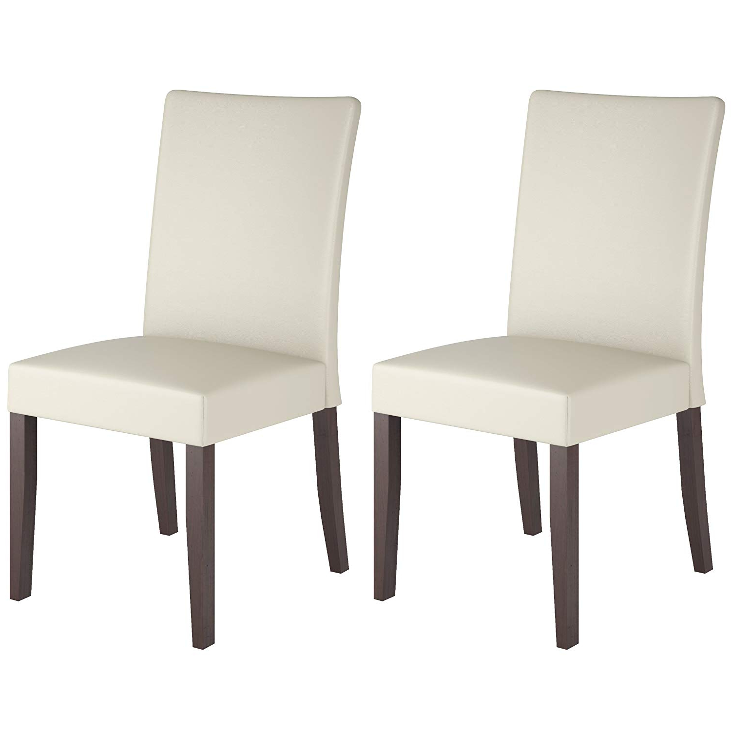 Most Current Atwood Transitional Square Dining Tables For Corliving Atwood Dining Chairs, Small, Cream (View 18 of 30)