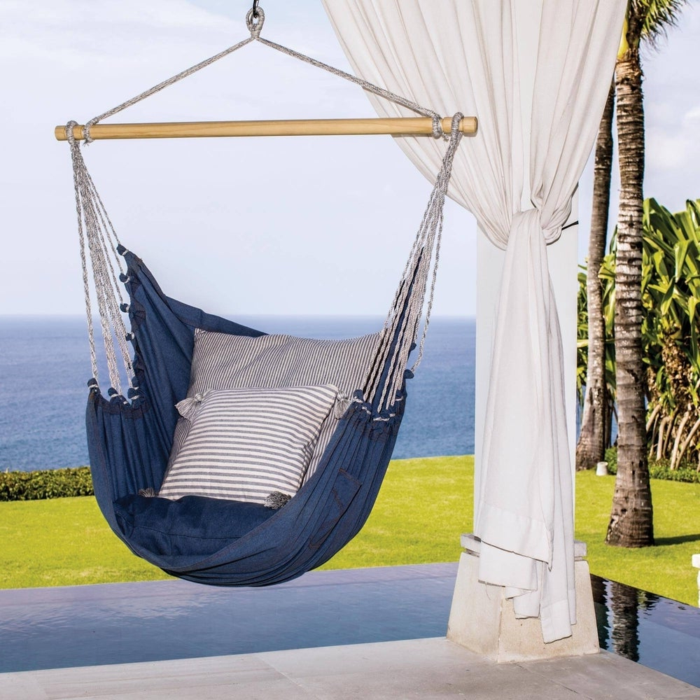 Most Current Buy Cotton Hammocks & Porch Swings Online At Overstock (Gallery 7 of 30)