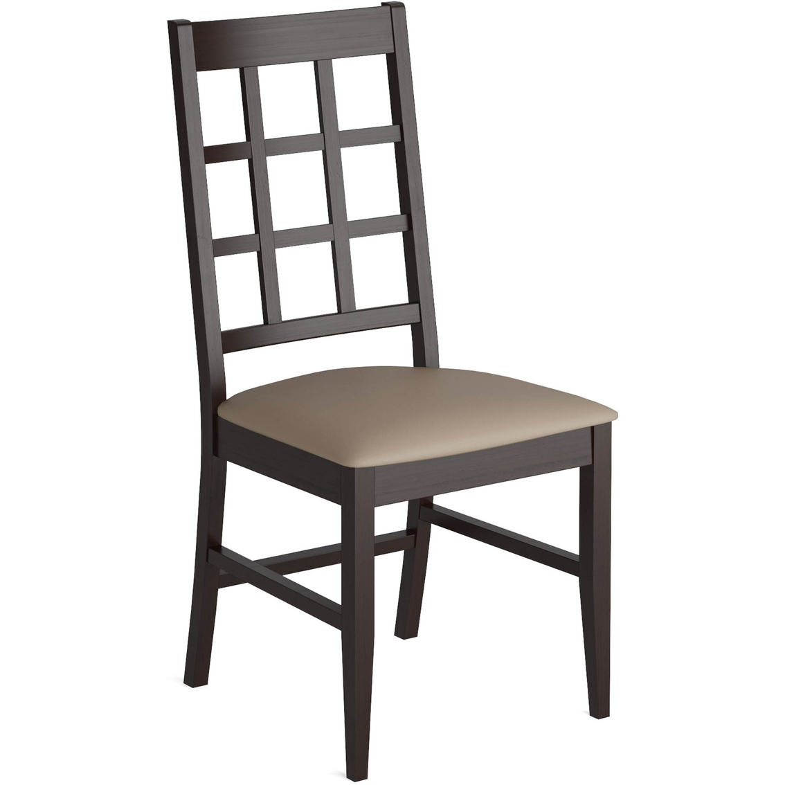 Most Current Corliving Atwood Dining Chairs With Leatherette Seat 2 Pk Inside Atwood Transitional Square Dining Tables (View 22 of 30)