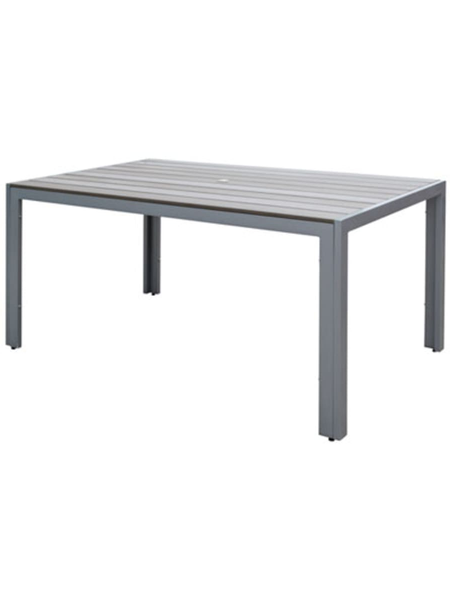 Most Current Corliving Gallant Contemporary 6 Seating Rectangular Outdoor Intended For Contemporary 6 Seating Rectangular Dining Tables (View 3 of 30)