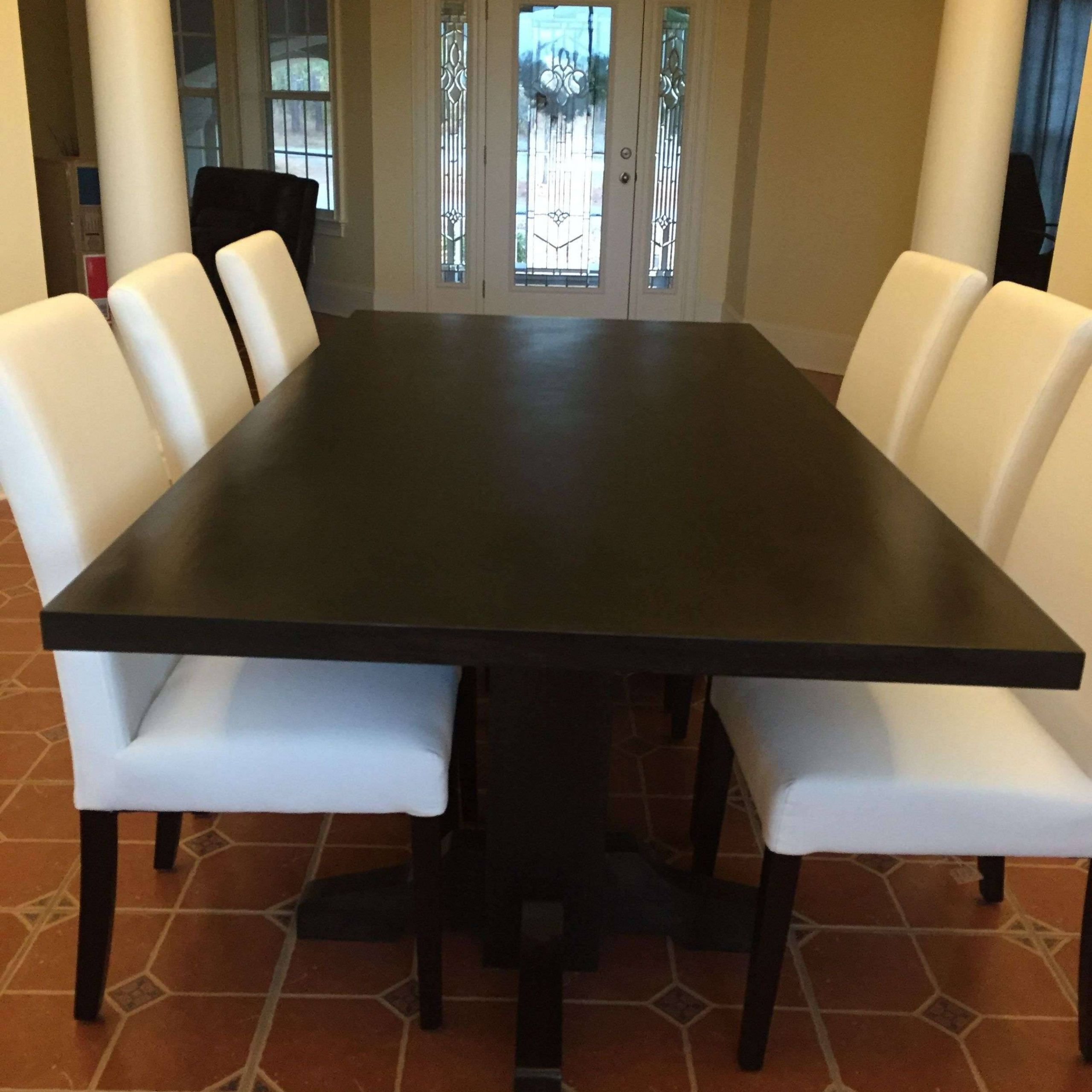 Most Current Dining Tables With Stained Ash Walnut Regarding Stunning Black Walnut Furniture Ideas Winning Dark Butcher (Gallery 17 of 30)