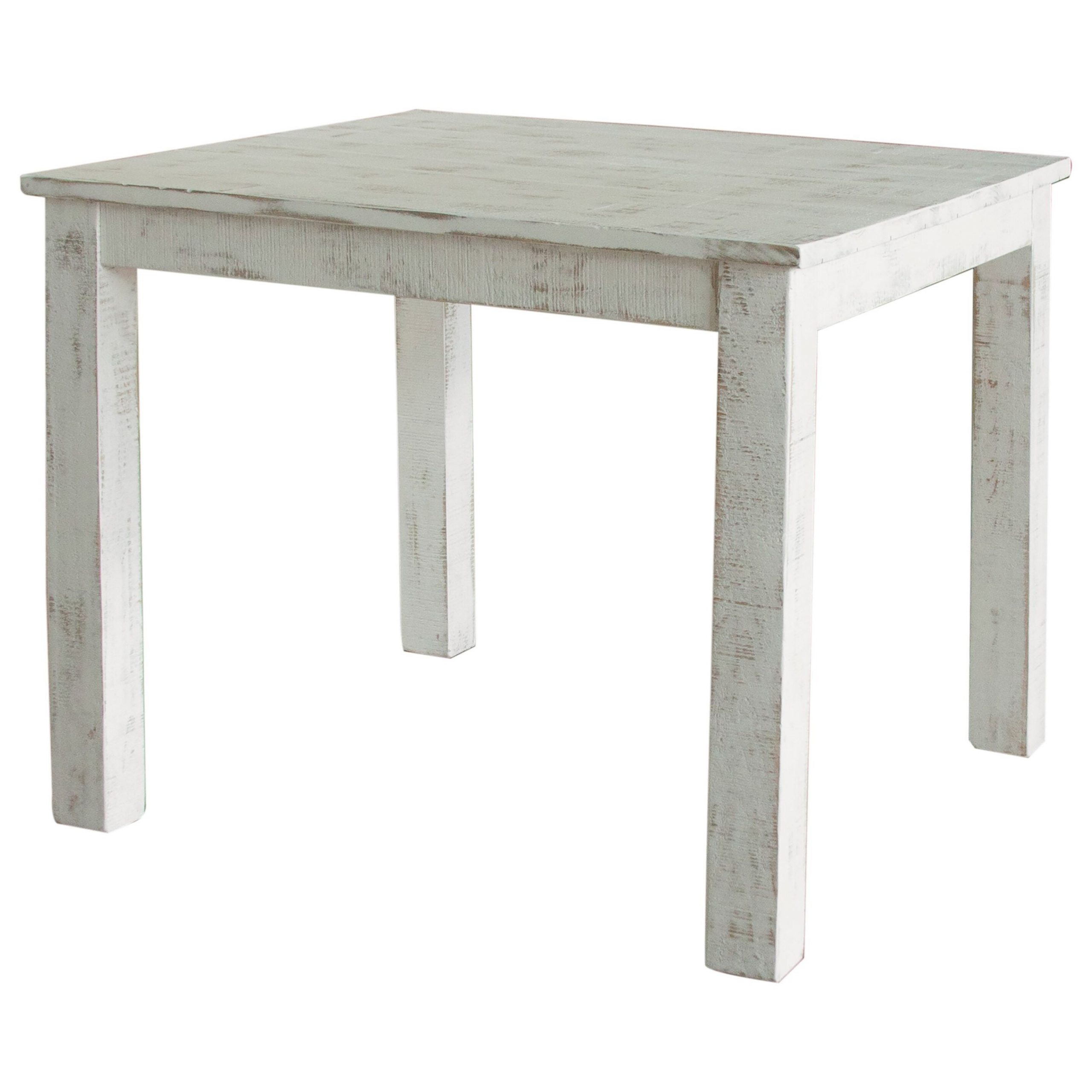 """Most Current Distressed Grey Finish Wood Classic Design Dining Tables Pertaining To International Furniture Direct Pueblo Rustic 42"""" Counter (View 12 of 30)"""