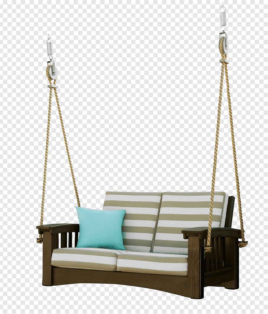 Most Current Porch Swings With Chain Regarding Brown Wooden Porch Swing, Swing Hershy Way Ltd Garden (View 25 of 30)