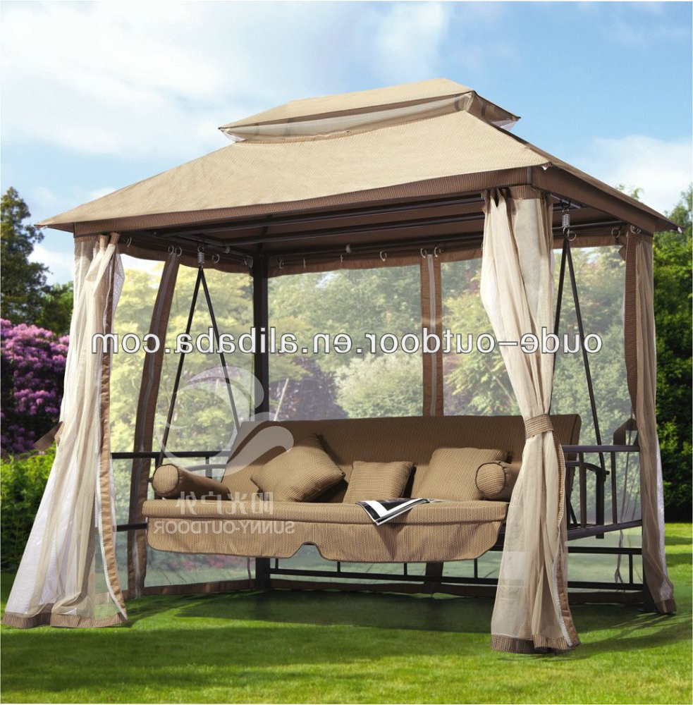 Most Popular 3 Seat Swing, View Swing, Sunny Product Details From Sunny Umbrella Factory On Alibaba With 3 Seat Pergola Swings (View 6 of 30)