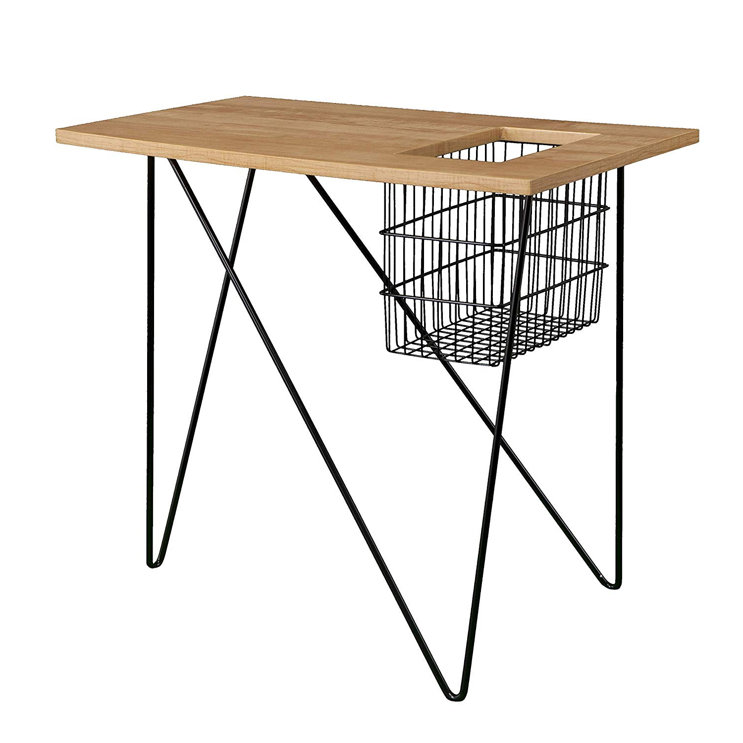Most Popular Acacia Dining Tables With Black Rocket Legs Pertaining To Amazon: Southern Enterprises Amz6312co Nyda End Table (View 11 of 30)