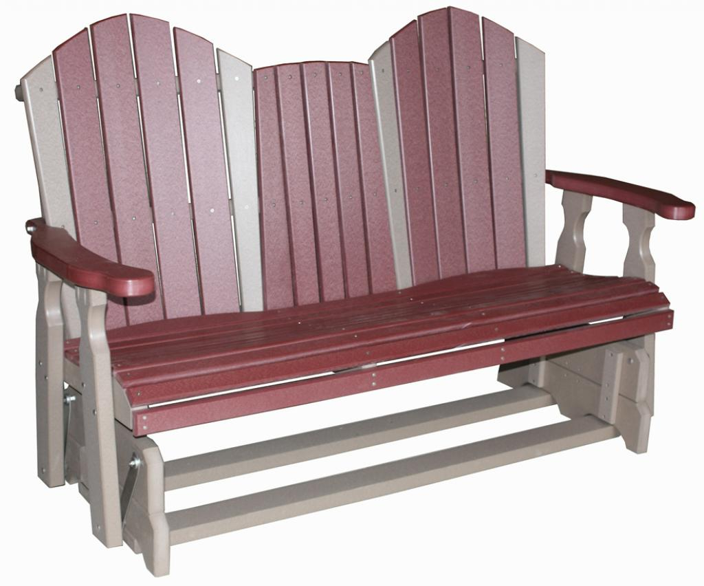 Most Popular Creekside / 5′ Classic Glider Bench Seat – Three Sisters For Classic Glider Benches (Gallery 20 of 30)