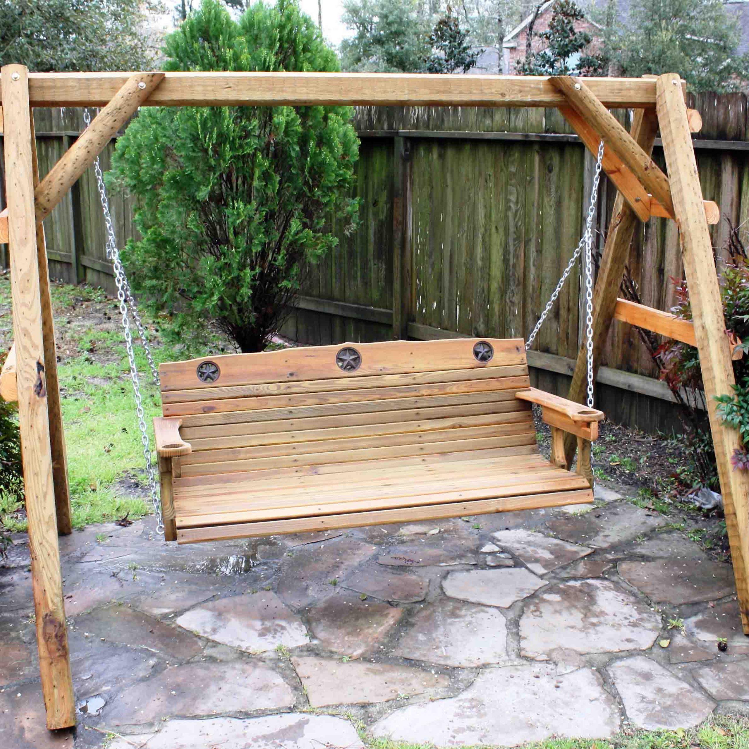 Most Popular Fordyce Porch Swings Inside Patio Backyard Cedar Porch – Recognizealeader (Gallery 16 of 30)