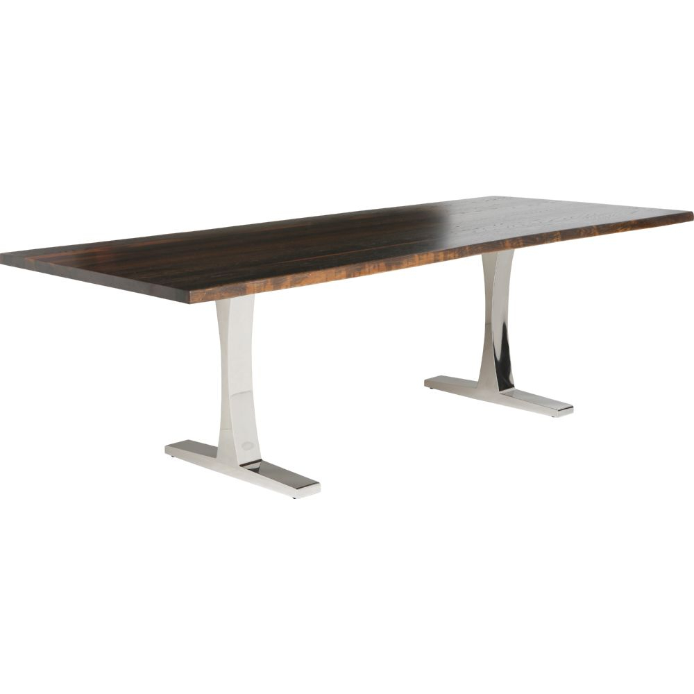 Most Popular Nuevo Furniture – Modern Dining Tables For Dining Tables In Smoked Seared Oak (View 22 of 30)