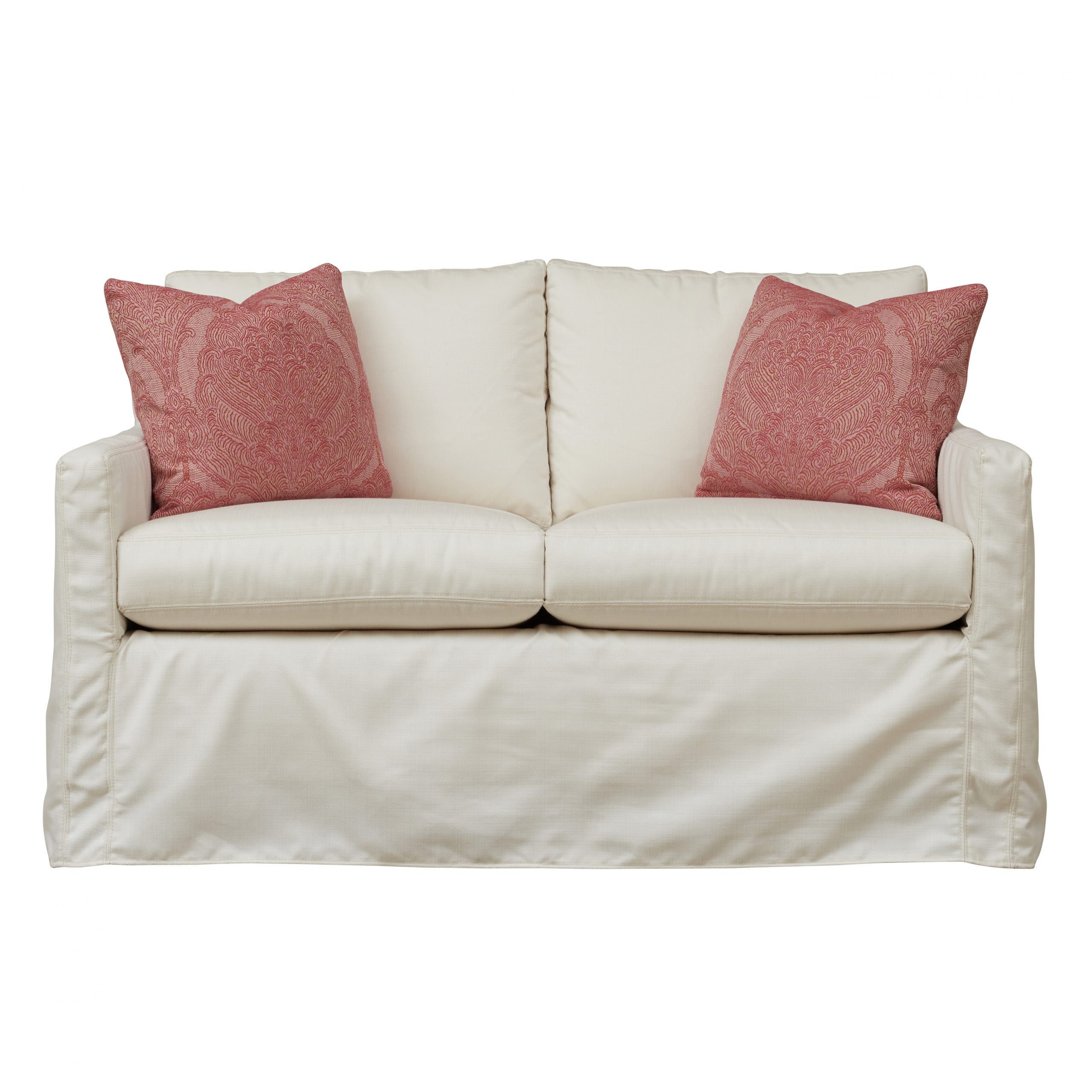 Most Popular Outdoor Loveseat Gliders With Cushion Within Oscar Outdoor Slipcover Loveseat Glider – Southern Furniture (View 21 of 30)