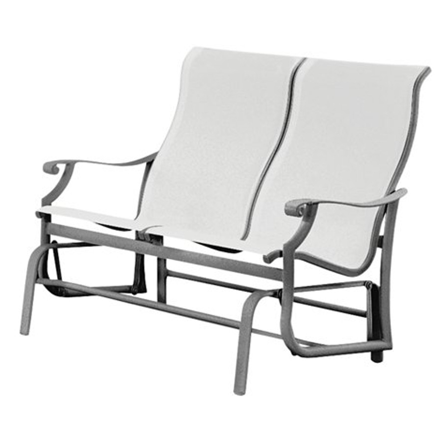 Most Popular Sling Double Glider Benches For Montreux Collection – Viking Casual Furniture (Gallery 29 of 30)