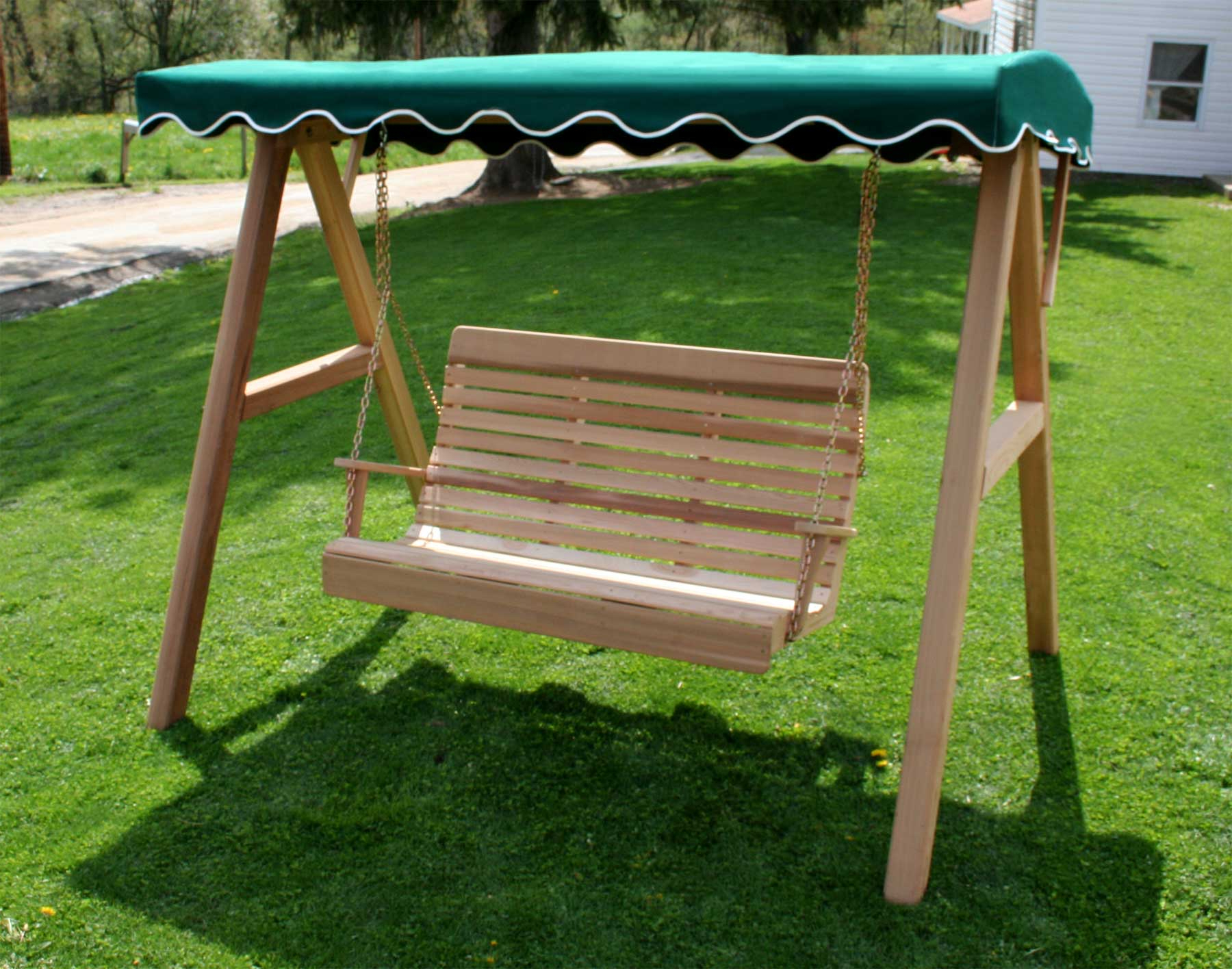Most Popular Sunbrella Porch Swing Canopy In Porch Swings With Canopy (View 10 of 30)
