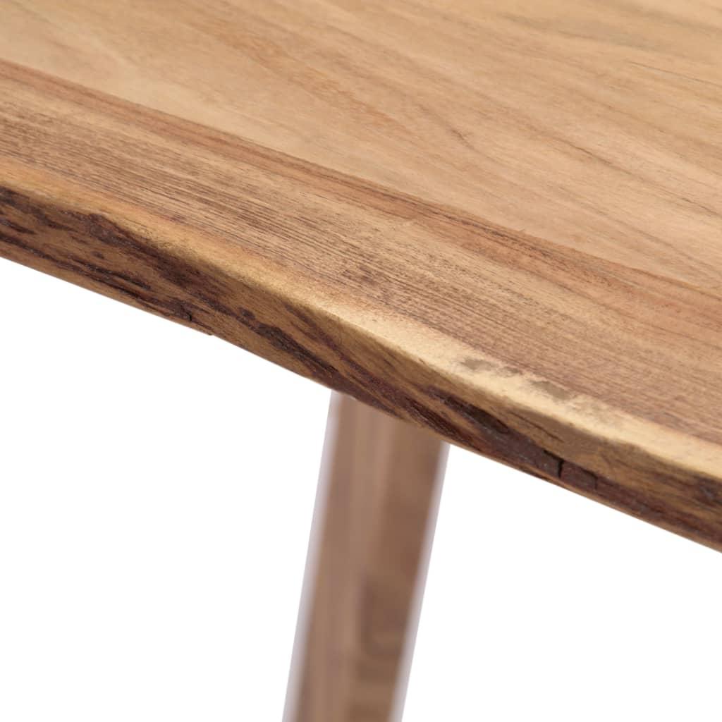 Most Popular Vidaxl Dining Table 180x88x76 Cm Solid Acacia Wood For Solid Acacia Wood Dining Tables (Gallery 14 of 30)