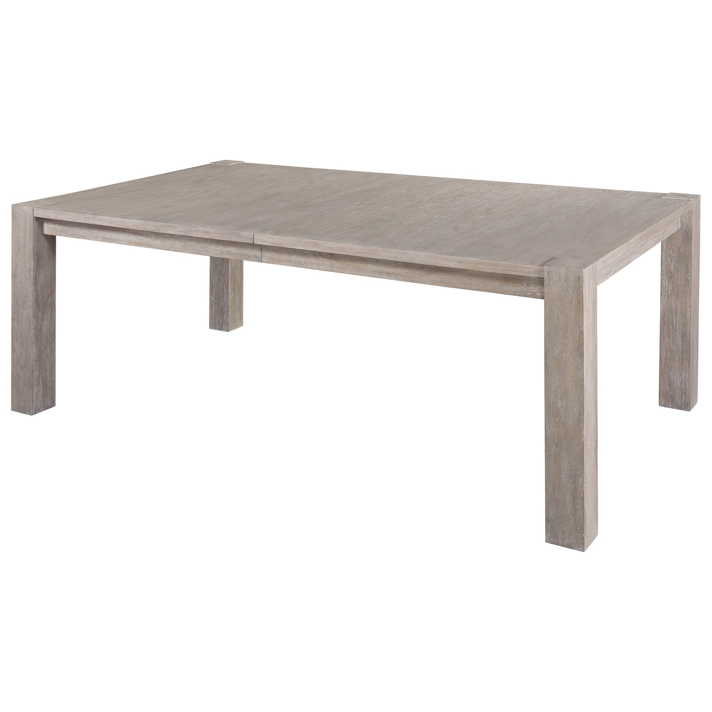 Most Popular Wood Kitchen Dining Tables With Removable Center Leaf With Hekman Berkeley Heights 1 7120 Rectangular Post Dining Table (View 24 of 30)