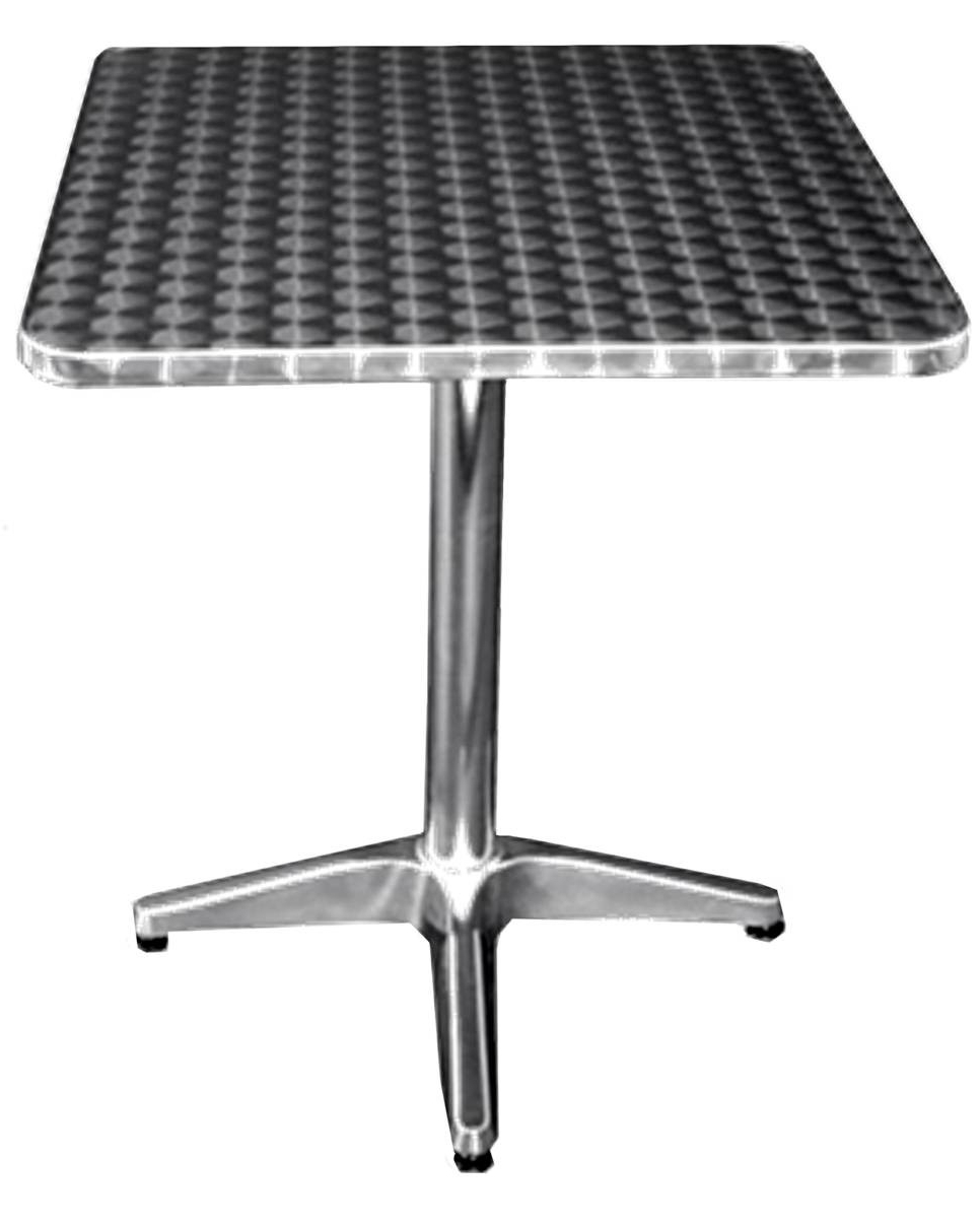 "Most Recent All About Furniture Oat3232 Outdoor Stainless Patio Dining Table 32"" X 32"" Square Inside Patio Square Bar Dining Tables (View 15 of 30)"