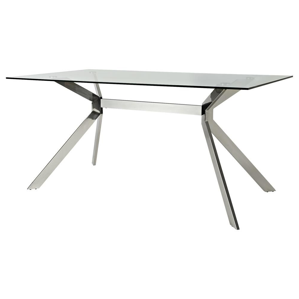 Most Recent Atelier – Urban Classic – Glass Top Dining Table With Intended For Glass Top Condo Dining Tables (View 19 of 30)