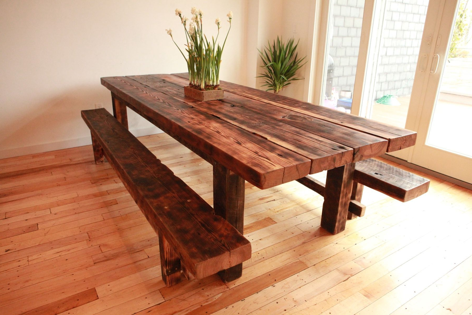 Most Recent Build Your Personal Table. Free Plans For Farmhouse Tables Pertaining To Rustic Pine Small Dining Tables (Gallery 8 of 30)