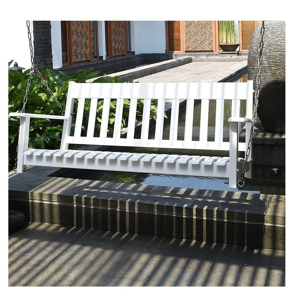 Most Recent Contoured Classic Porch Swings Within Cheap Porch Swing White, Find Porch Swing White Deals On (View 29 of 30)