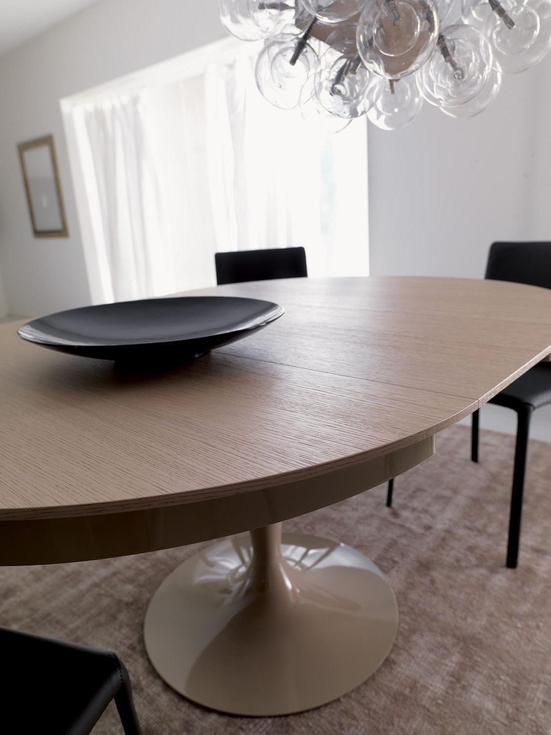 Most Recent Eclipse Dining Tables With Regard To Contemporary Dining Table / Wooden / Metal / Round – Eclipse (Gallery 19 of 30)