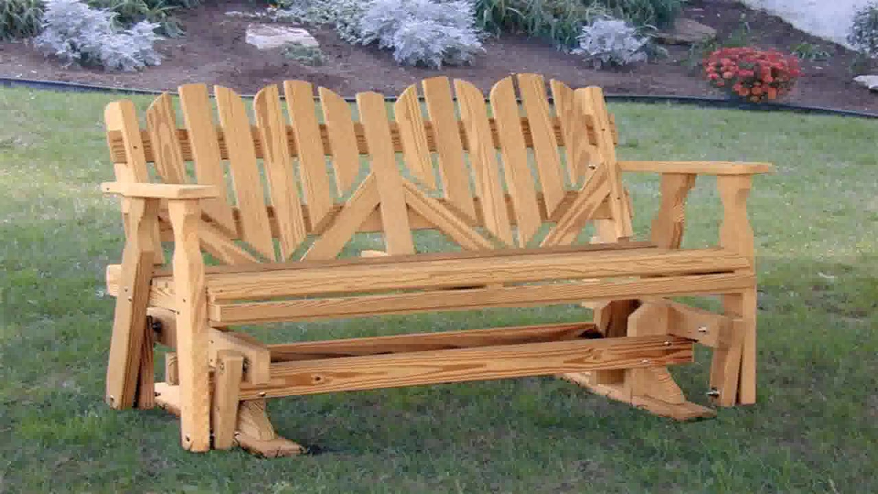 Most Recent Hardwood Porch Glider Benches With Regard To Wooden Porch Glider Plans (See Description) (See Description (View 15 of 30)