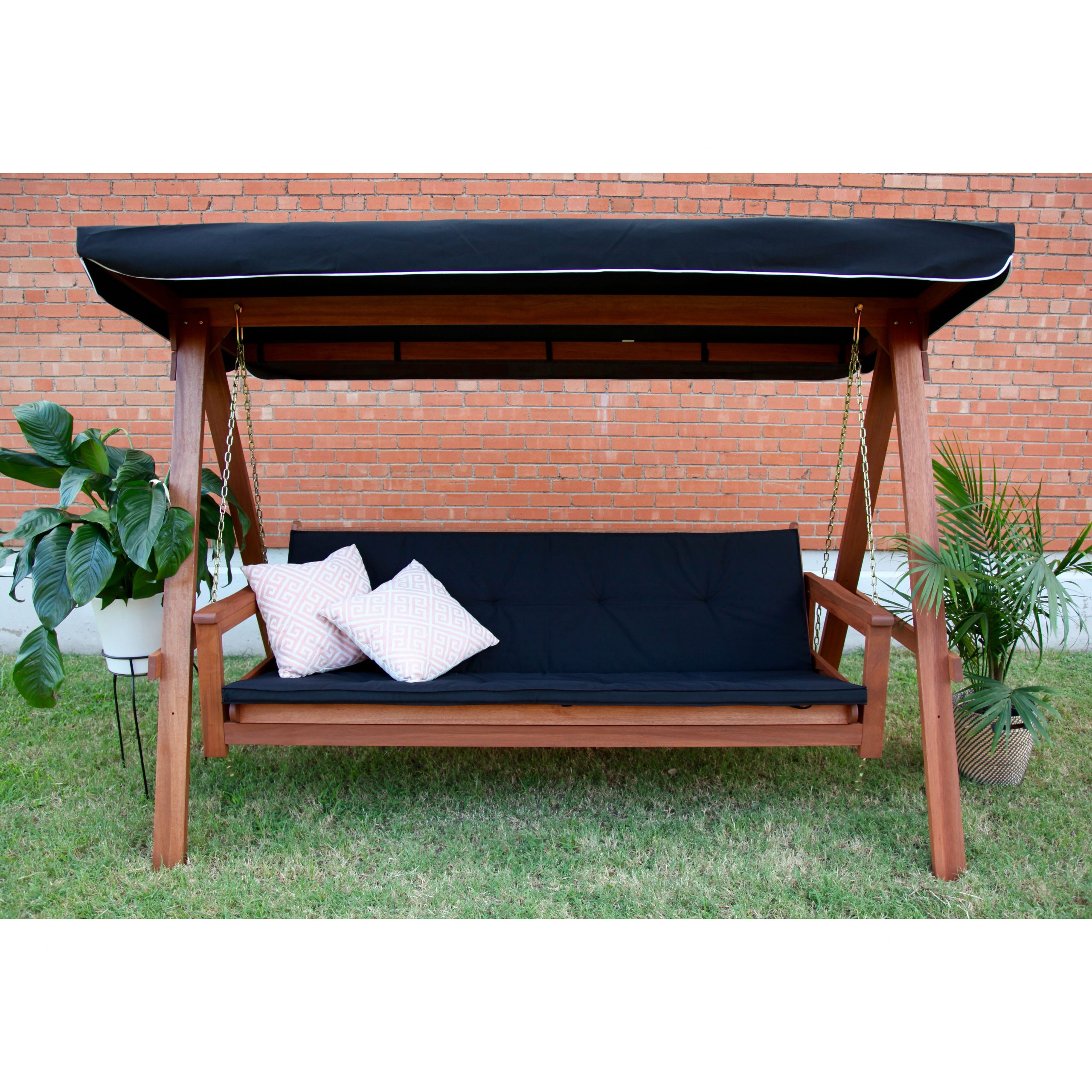 Most Recent Lautan Llc Avoca 3 Seat Porch Swing Daybed (Gallery 9 of 30)