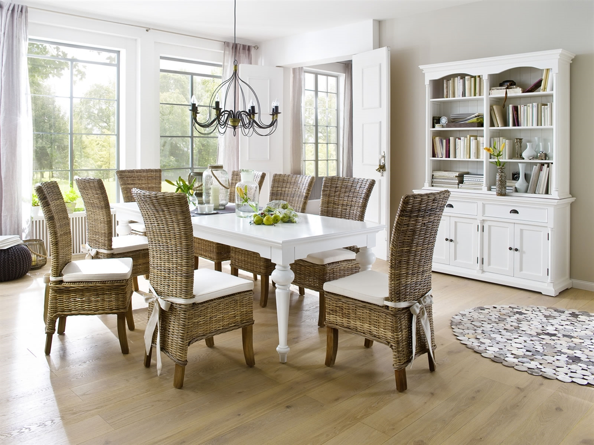 """Most Recent Provence White Dining Table Width 94.5"""" In Provence Accent Dining Tables (Gallery 25 of 30)"""