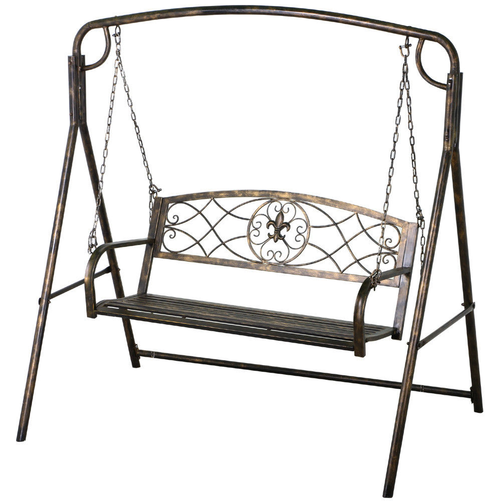 Most Recent Review: The 7 Best Patio And Porch Swing Stands – Wooden And With Plain Porch Swings (View 27 of 30)