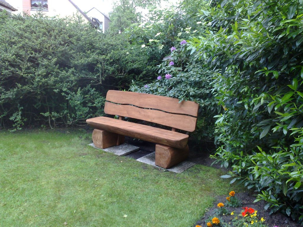Most Recent Wood Garden Benches Pertaining To 45 Wood Garden Bench Ideas – Woodworking24Hrs (View 14 of 30)