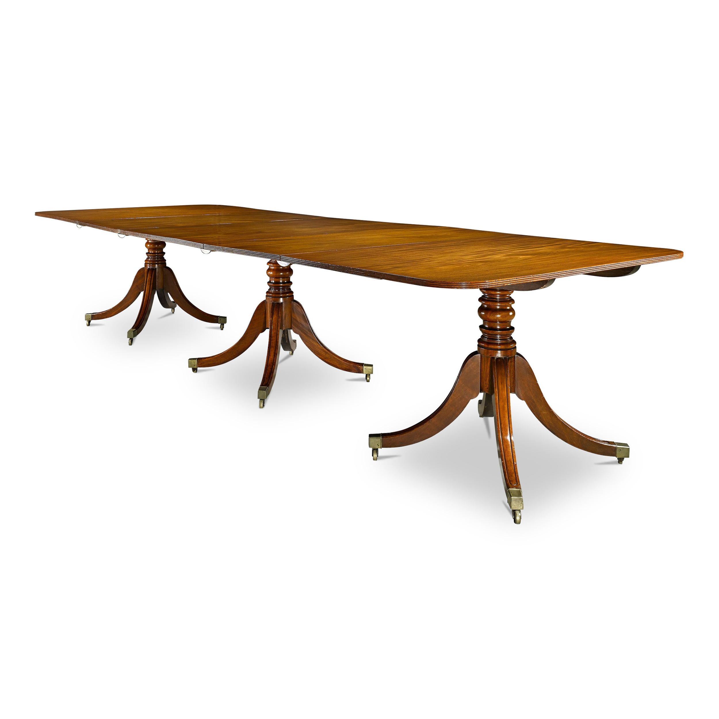 Most Recent Wood Kitchen Dining Tables With Removable Center Leaf Intended For Guide To Antique Tables – M.s (View 10 of 30)